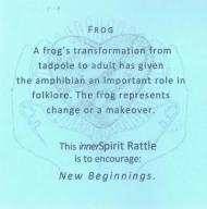 Description of the frog spirit rattle